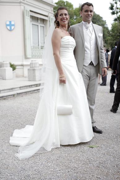 Les mariés à la Mairie Marseille