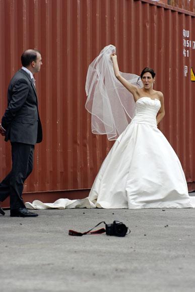 Trash the dress Estaque Marseille