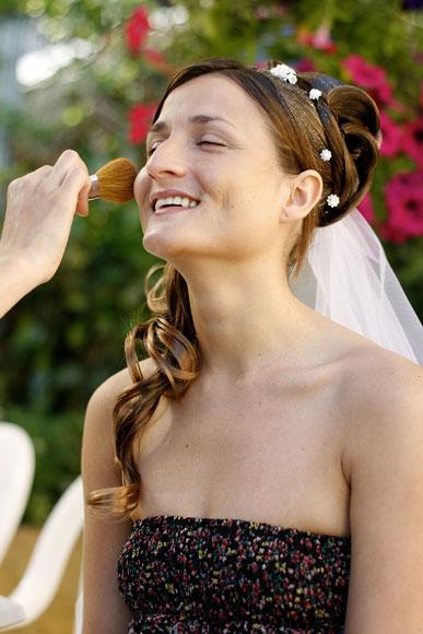 Photos des préparatifs du mariage