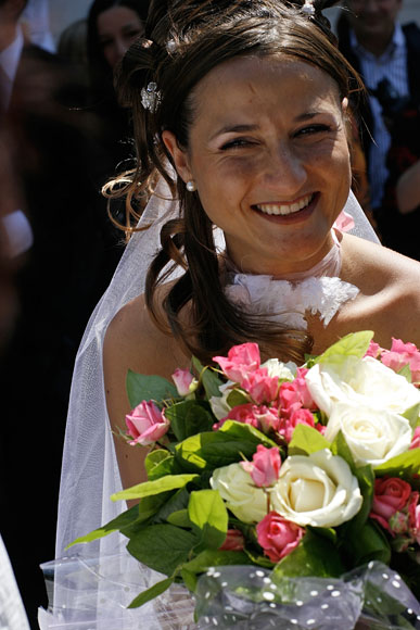 La mariée à Saint Cyr 83