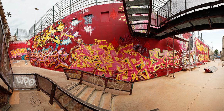 La Faille Skatepark Friche belle de mai