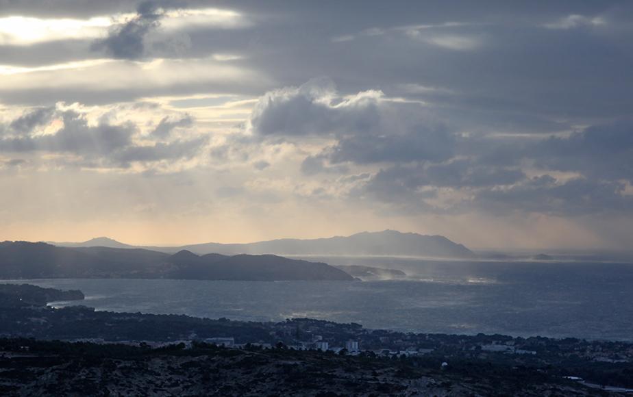 Baie de La Ciotat depuis Cassis